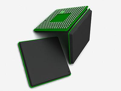 flip chip 3d max