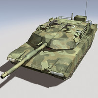 M1 Abrams Camouflage Version