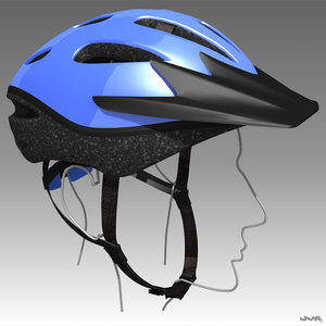 3d bicycle helmet