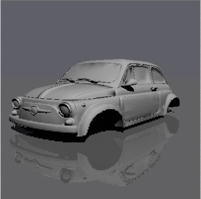 small fiat 3ds