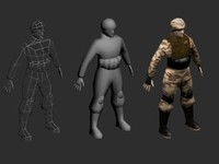 3d shadowmapped solider