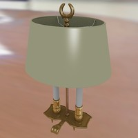 3ds max lamp candle light