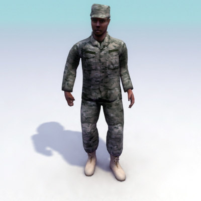 max usarmy rigged combat