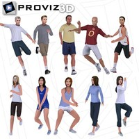 3D People: Sports People Vol. 01