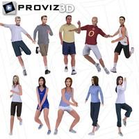 3D People: Sports People Vol. 01