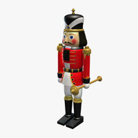 3d model nutcracker character