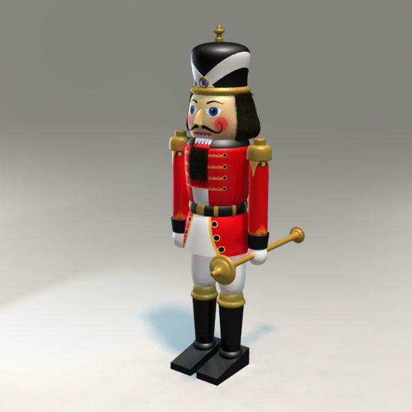 3d model nutcracker character