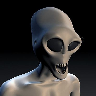 3d 3ds alien piercing
