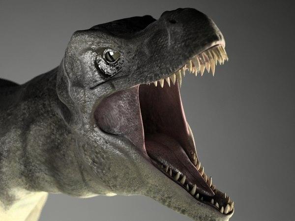realistic tyrannosaurus 3d model