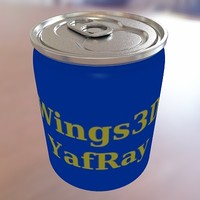 maya soda wings3d