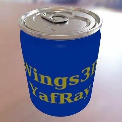 maya soda wings3d