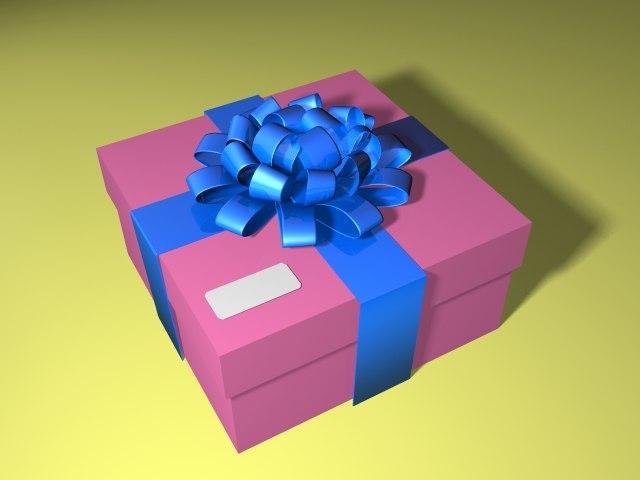 present lightwave 3d model