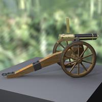 3d 1862 modeled model