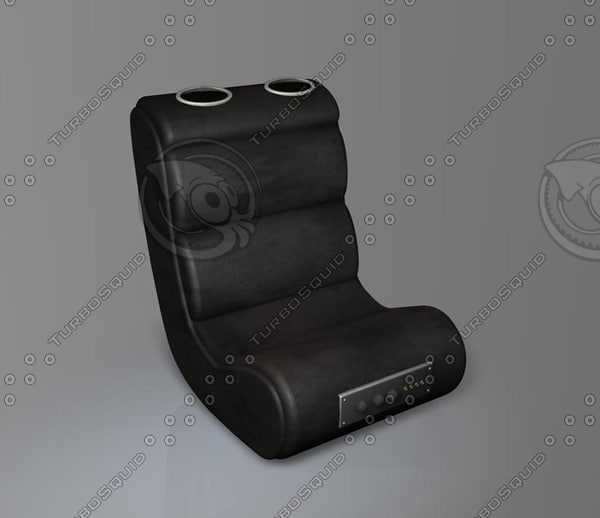 3d model gaming chair