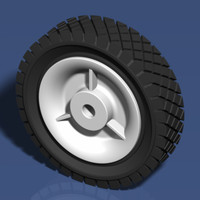 3ds max tire lawnmowers