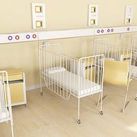 paediatrics ward 3d max