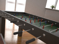 3d table soccer