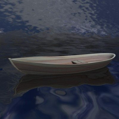 3d model boat watercraft