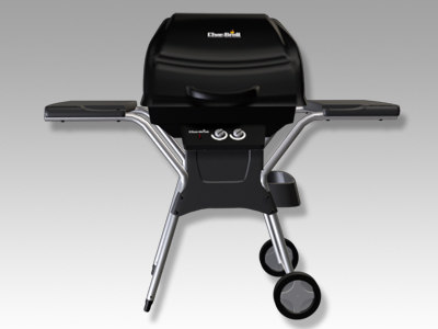 3ds max charbroil grill