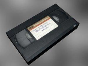 3d videotape vhs