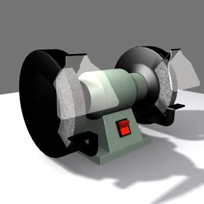 3d bench grinder