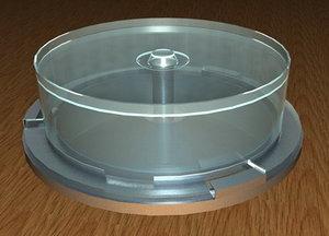 3d cd case model