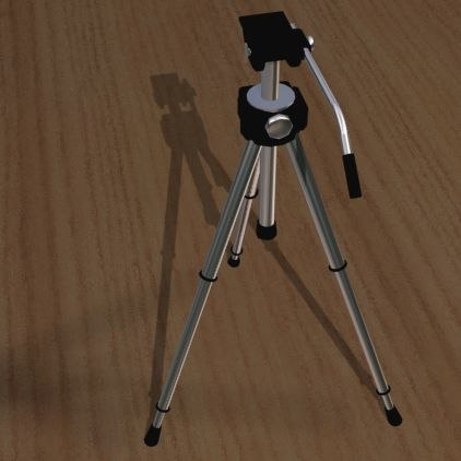 3d model tripod