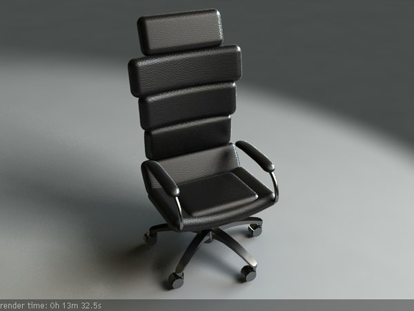 presidential chair 3d model