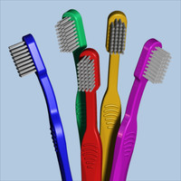 3d toothbrush tooth brush