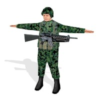 Free 3D Soldier Models | TurboSquid