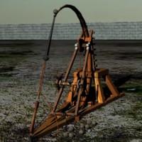 Da Vinci Stonethrower Catapult