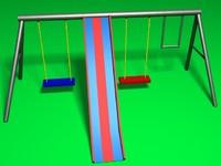 simple swing set lwo