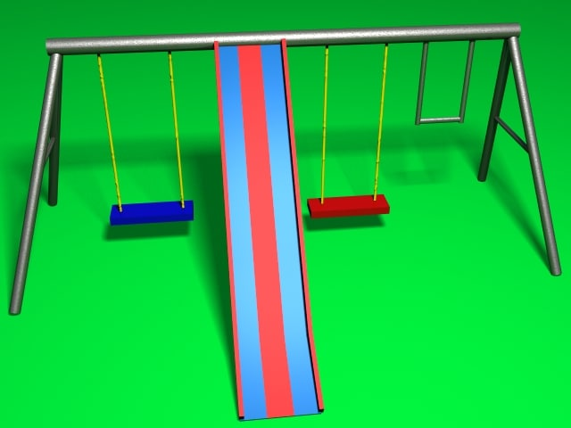 simple swing set lwo