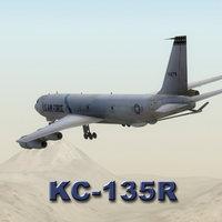 kc-135r stratotanker aircraft kc-135 3d max