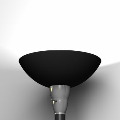 standing lamp lighting 3d model
