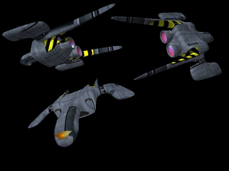 3d model spaceship xxzy5
