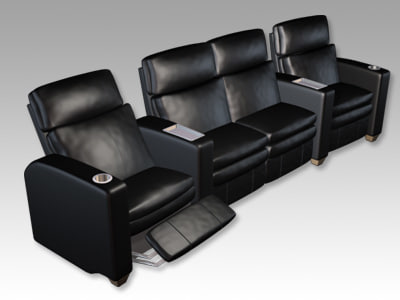 lazyboy recliners home theater max