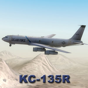 3ds kc-135r stratotanker aircraft