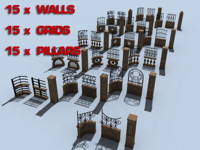 max modular fences zipped