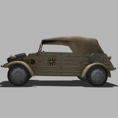 3d kubelwagen vehicle