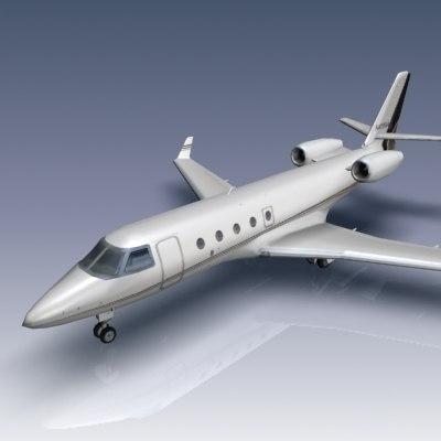 3d gulfstream g150 aircraft business jet