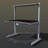 Adjustable Metal Desk