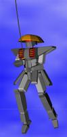 samurai robot c4d