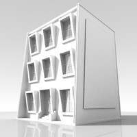 3d building house
