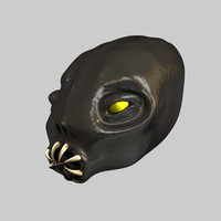 3ds max creature head