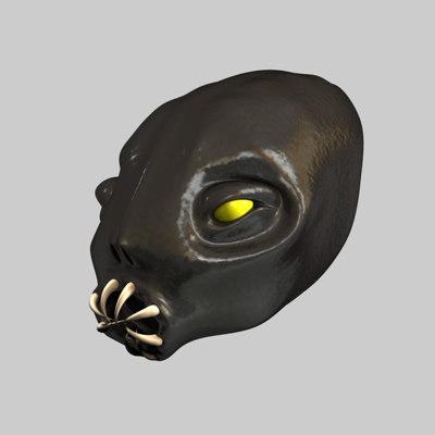3ds max creature head