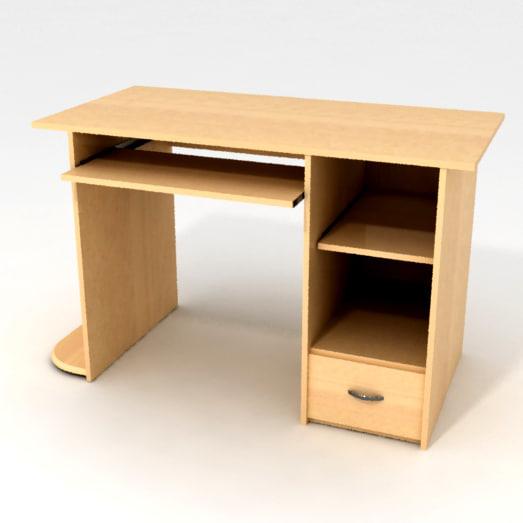 3d model table computer