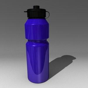 bottle sport 3d model