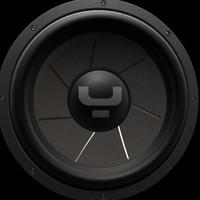 sub woofer speaker 3d model