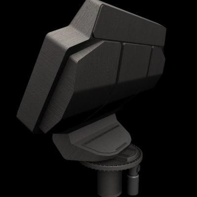 alpha radar 3d model